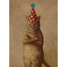 Load image into Gallery viewer, 9 Lives Birthday Greeting Card 6 pack