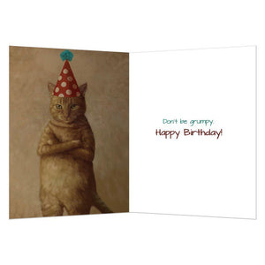 9 Lives Birthday Greeting Card 6 pack