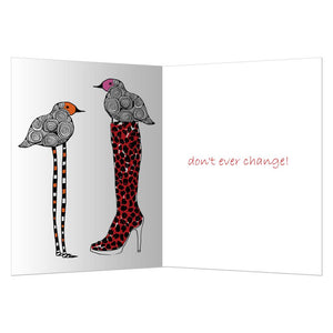 From Head To Toe Friendship Greeting Card 6 pack