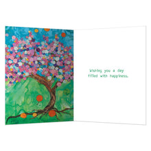 Load image into Gallery viewer, Balloon Tree Birthday Greeting Card 6 pack