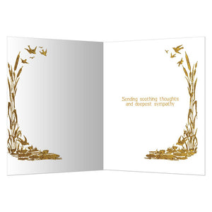 Splendor In the Grass Sympathy Greeting Card 6 pack