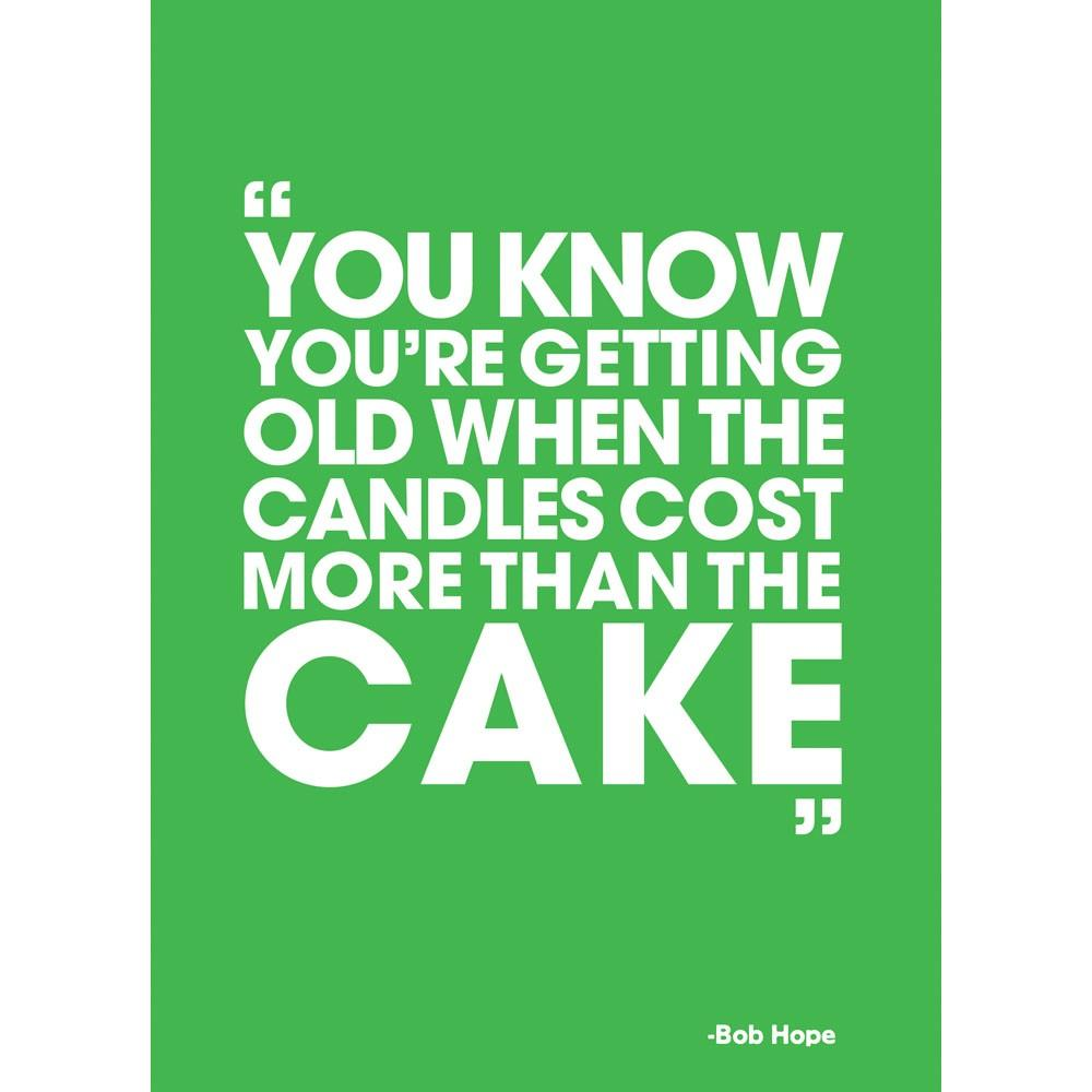 Candles Cost More Birthday Greeting Card 6 pack