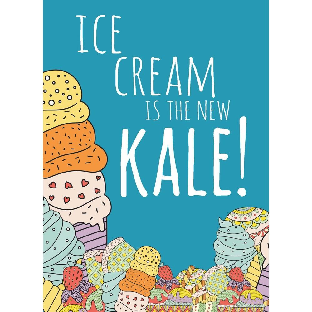 New Kale Birthday Greeting Card 6 pack