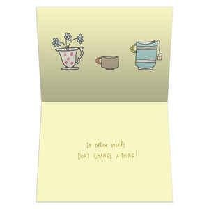 Silly Honest Kind Greeting Card