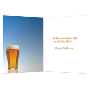 Barely Enough Birthday Greeting Card 6 pack