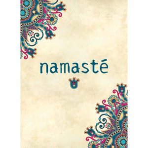 Namaste All Occasion Greeting Card 6 pack