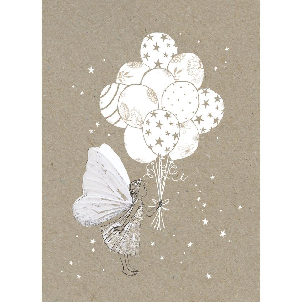 Fairy Balloons Greeting Card