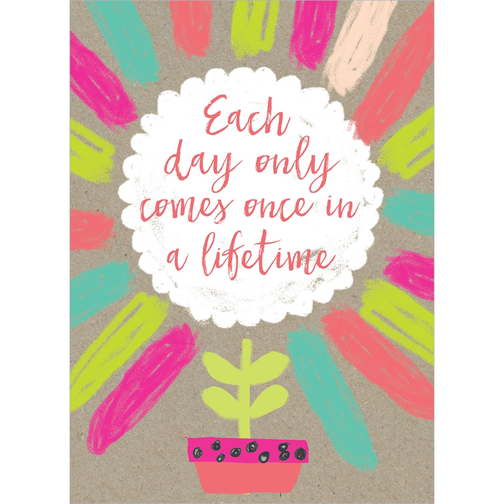 Once In A Lifetime All Occasion Greeting Card 6 pack