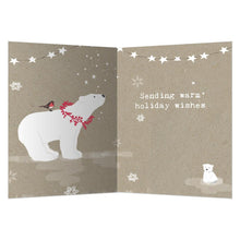 Load image into Gallery viewer, Sweet Polar Christmas Christmas Greeting Card 4 pack