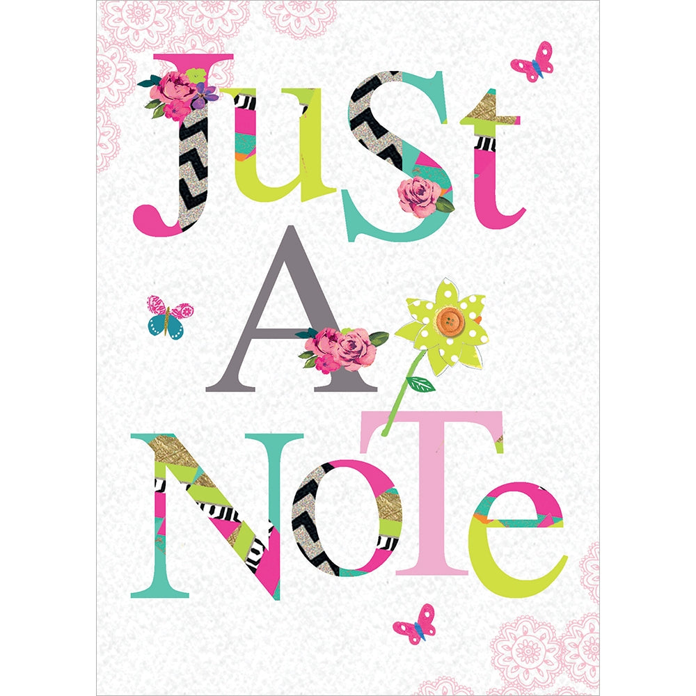 Just A Note All Occasion Greeting Card 6 pack