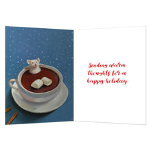 Load image into Gallery viewer, Mallow Holiday Holiday Greeting Card 4 pack