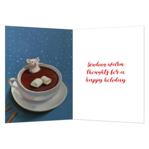 Mallow Holiday Holiday Greeting Card 4 pack