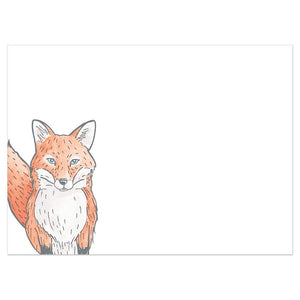 Foxy Birthday Birthday Greeting Card 6 pack