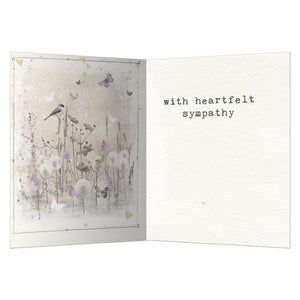 Just A Thought Away Sympathy Greeting Card 6 pack