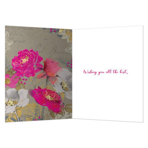 Beautiful Birthday Wishes Birthday Greeting Card 6 pack