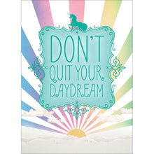 Load image into Gallery viewer, Don't Quit Daydream All Occasion Greeting Card 6 pack
