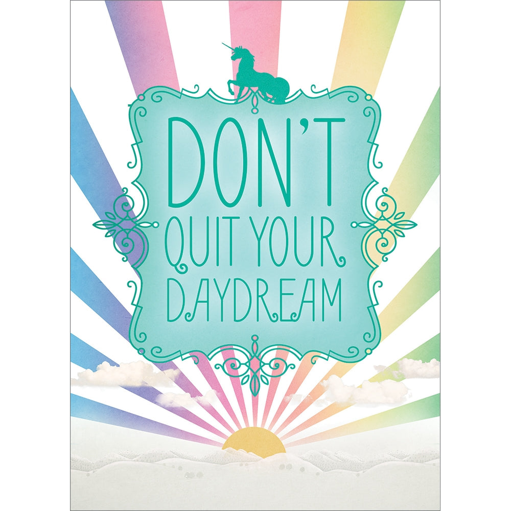 Don't Quit Daydream All Occasion Greeting Card 6 pack