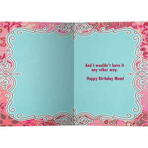 No Mama Birthday Birthday Greeting Card 6 pack