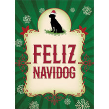Load image into Gallery viewer, Feliz Navidog Christmas Greeting Card 4 pack