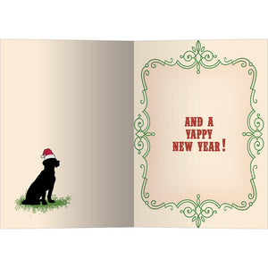 Feliz Navidog Christmas Greeting Card 4 pack