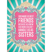 Load image into Gallery viewer, Soul Sisters Friendship Greeting Card 6 pack