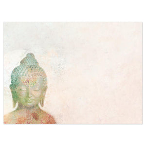 Mindful Buddha All Occasion Greeting Card 6 pack