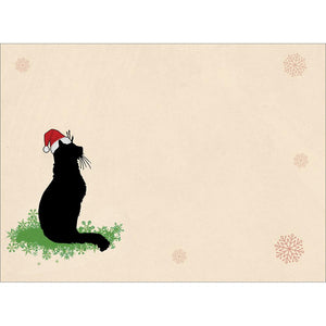 More Cats Christmas Christmas Greeting Card 4 pack