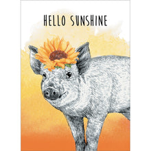 Load image into Gallery viewer, Hello Sunshine Thinking of You Greeting Card 6 pack