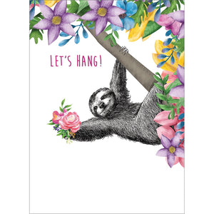 Let's Hang Love Greeting Card 6 pack