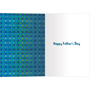 Coolest Pop Father's Day Greeting Card 4 pack