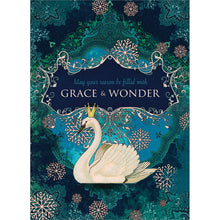 Load image into Gallery viewer, Grace And Wonder Holiday Greeting Card 4 pack