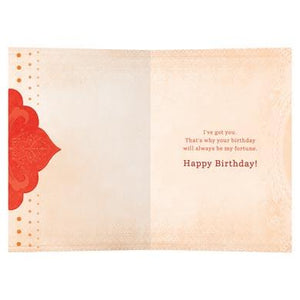 Lucky Me Birthday Greeting Card 6 pack