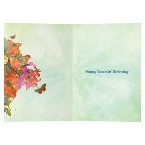 Bloomin Birthday Birthday Greeting Card 6 pack