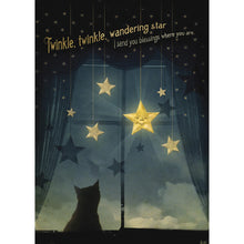 Load image into Gallery viewer, Twinkle Friendship Greeting Card 6 pack