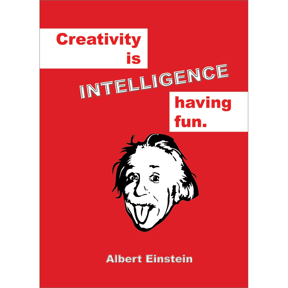Intelligence Having Fun All Occasion Greeting Card 6 pack