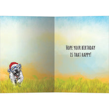 Load image into Gallery viewer, Happy Puppy Day Birthday Greeting Card 6 pack