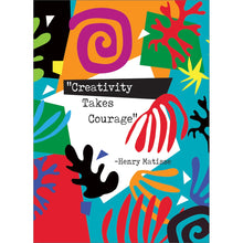 Load image into Gallery viewer, Creativity Courage All Occasion Greeting Card 6 pack