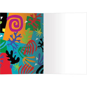 Creativity Courage All Occasion Greeting Card 6 pack