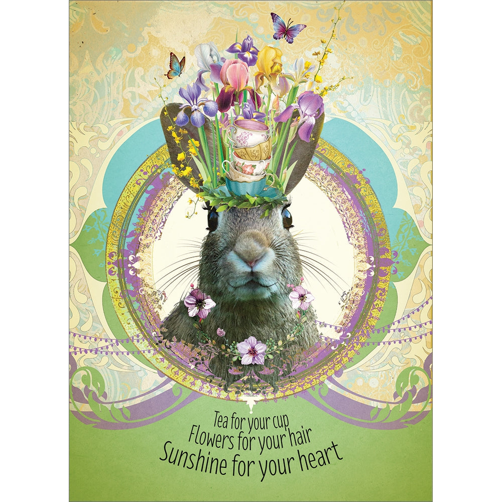 Health For You Get Well Greeting Card 6 pack