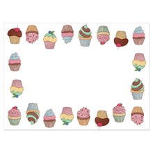 Load image into Gallery viewer, Cupcake Muffin Birthday Greeting Card 6 pack