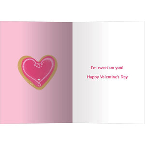 Too Sweet Valentine Valentine's Day Greeting Card 4 pack