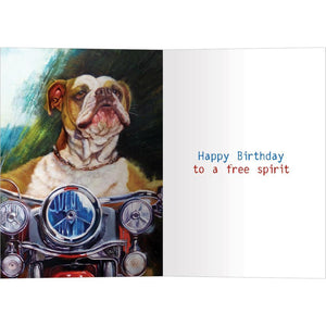 Free Spirit Birthday Birthday Greeting Card 6 pack