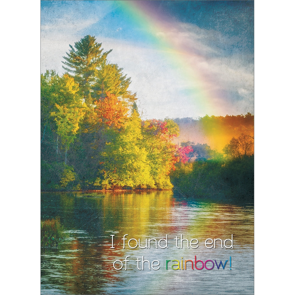 Rainbow's End All Occasion Greeting Card 6 pack