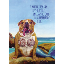 Load image into Gallery viewer, Mer-Dog Get Well Greeting Card 6 pack