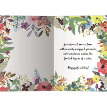 Load image into Gallery viewer, Happiness From Within Birthday Greeting Card 6 pack