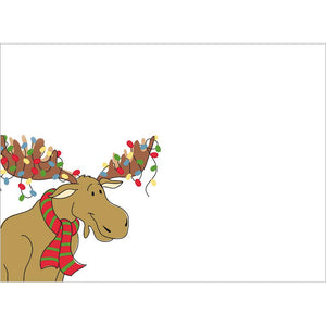Merry Christmoose Christmas Greeting Card 4 pack