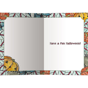 Treat Yourself Halloween Greeting Card 4 pack