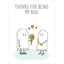 Load image into Gallery viewer, Being My Boo Halloween Greeting Card 4 pack