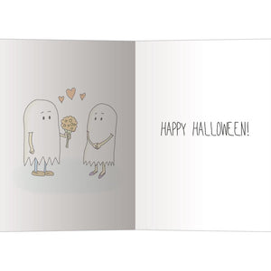 Being My Boo Halloween Greeting Card 4 pack
