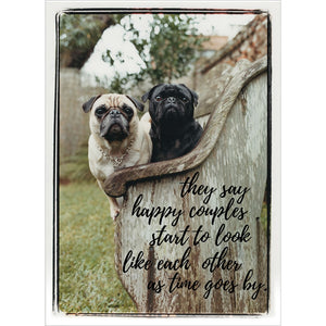 Happy Couples Anniversary Greeting Card 6 pack